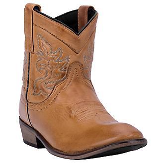 Dingo Ladies Willie Round Toe Booties