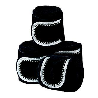 Weatherbeeta Fleece Bling Bandage 4-Pack