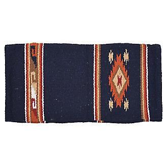 Diamond R Double Weave Saddle Blanket