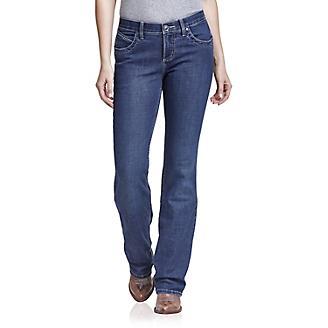 Wranlger Ladies Q-Baby Wild Streak Boot Cut Jean