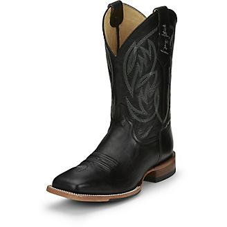 Justin Mens G Strait Check Yes Boots