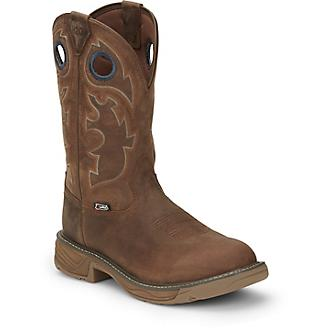 Justin Mens Rush Barley Boots