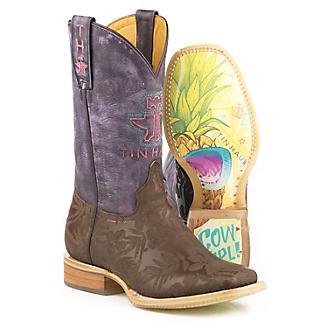 Tin Haul Ladies Aloha Floral Boots