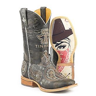 Tin Haul Ladies Bandana Bandit Boots