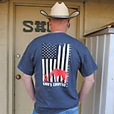 Gods Country Adult T-Shirt