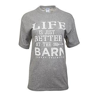 At Barn Adult T-Shirt