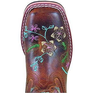 Smoky Mountain Childs Floralie Brown Boots