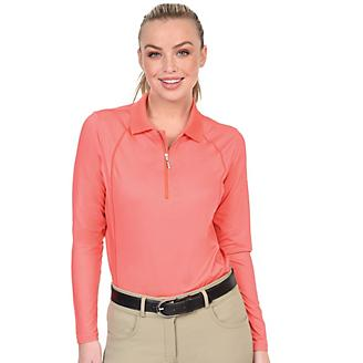 Ovation Thesie Ladies Tech LS Polo