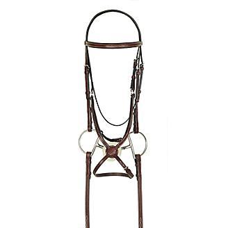 HK Americana Fancy Figure-8 Bridle w Reins