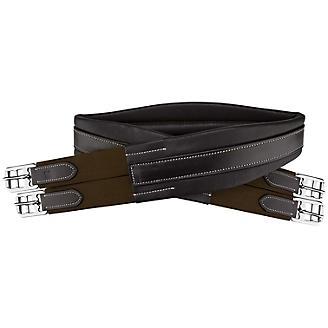 OEQ Platinum Premium Leather Contoured Girth