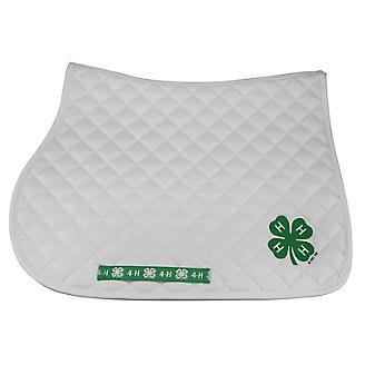 4-H Premium All Purpose Embroidered Saddle Pad