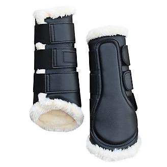Gatsby Horse Boots Faux Sheepskin