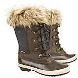 OEQ Ladies Canvas Fur Top Winter Boot