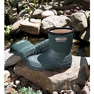 Mudruckers Waterproof 9in Slip On Mid Boots