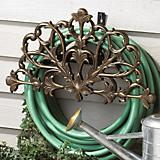 French Bronze Filigree Hose Holder