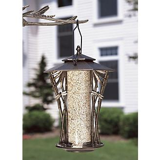 French Bronze 12in Dragonfly Silhouette Feeder