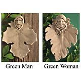 Leaf People Plaque