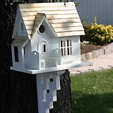 Home Bazaar Cozy Cottage Birdhouse w/Brackets