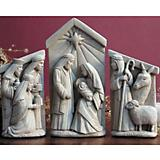 Nativity Set Plaque
