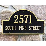 Arch Address Plaque