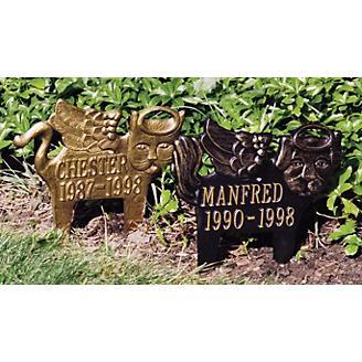 Pet Angel Lawn Plaque