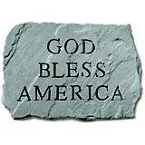 Kay Berry God Bless America Stone