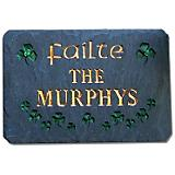 The Stone Mill 812603P Personalized Irish Plaque