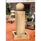 Monolith Fountain w/ Ball