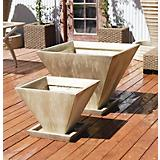 25in Large Oblique Planter