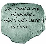 The Lord Is My Shepherd Accent Rock