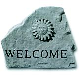 Welcome Sun Accent Rock