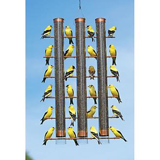 Finches Favorite 3 Tube Feeder