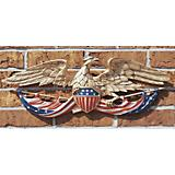 24In Patriotic Cast Aluminum  Eagle