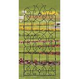 H. Potter Classic Ornamental Metal Garden Trellis