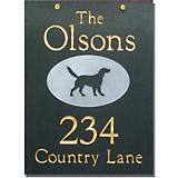 Slate Hanging Address Plaque