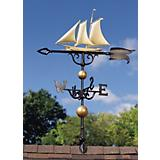 Yacht Weathervane 46in