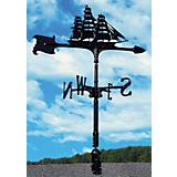 Clipper Accent Weathervane Black