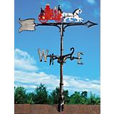 Fire Wagon Weathervane 30in