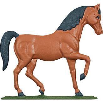 Horse Weathervane Painted