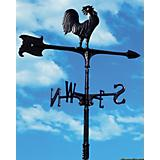 Rooster Accent Weathervane - Black