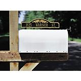 Two-sided Mailbox Sign