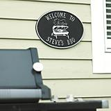 Grill Hawthorne Plaque