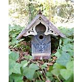 Heart and Eagle English Birdhouse