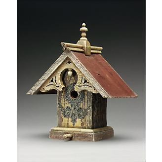 Heart and Eagle Queen Anne Birdhouse