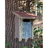 Heart and Eagle Bluebird Letterbox Birdhouse