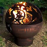 26 Fire Bowl With Orion Fire Dome