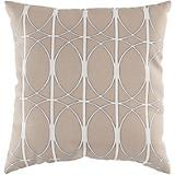 Pewter Olive Gray Papyrus Pillow
