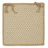Outdoor Houndstooth Tweed Sand Chair Pad