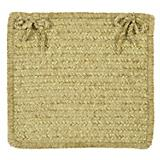 Simple Chenille Sprout Green Chair Pad