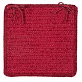 Simple Chenille Sangria Chair Pad